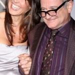 Susan Schneider & Robin Williams — Stock Photo #13073366