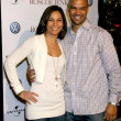 Salli Richardson and husband Dondre T. Whitfield - Stock Photo
