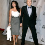 Постер, плакат: Clint Eastwood & Wife Dina