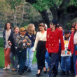 Lisa Marie Presley & Michael Jackson — Stock Photo