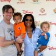 Garcelle Beauvais-Nilon & Family — Stock Photo