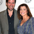 Stock Photo: Alexis Denisof & Alyson Hannigan