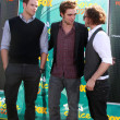 Постер, плакат: Kellan Lutz Robert Pattinson and Jackson Rathbone