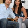 Stock Photo: Eric Winter & Roselyn Sanchez