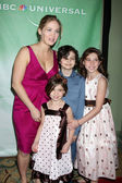 Erika Christensen, Savahhah & Emily Rae, and Miles Heizer — Stock Photo