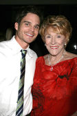 Greg Rikaart & Jeanne Cooper — Stock Photo