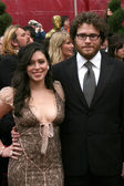 Seth Rogan & date — Stock Photo
