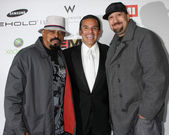 Antonio R. Villaraigosa & Cypress Hill — Stock Photo