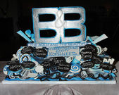 Cake celebrating Emmy Nominations for 2011 — Stock Photo