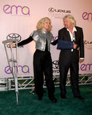 Blythe Danner & Sir Richard Branson — Stock Photo
