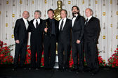 Sir Ben Kingsley, Robert DeNiro, Sean Penn, Michael Douglas, Adrien Brody, Sir Anthony Hopkins — Stock Photo