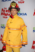 Josh Meyers as Firefighter — Stock Photo