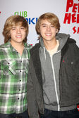 Dylan & Cole Sprouse — Stock Photo