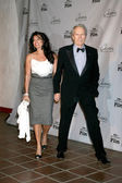 Clint Eastwood & Wife Dina — Stock Photo