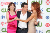 Marilu Henner, Dylan Walsh, Poppy Montgomery — Stock Photo