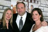 Hope Davis, James Gandolfini, Marcia Gay Harden — Stock Photo