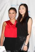 Michelle Kwan & Yuna Kim — Stock Photo