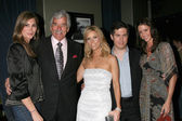 Julie Claire, Dennis Farina, Cheryl Hines, Chris Parnell and Shannon Elizabeth — Stock Photo