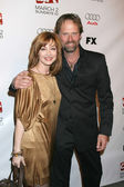 Sharon Lawrence & Jeffrey Nordling — Stock Photo