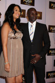 Kimora Lee Simmons & Djimon Hounsou — Stock Photo