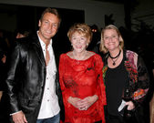 Doug Davidson, Jeanne Cooper and Cindy Fisher — Stock Photo