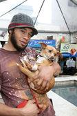 Kiko Ellsworth, his dog — Stock Photo