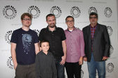 Justin Roiland, Atticus Shaffer, Maxwell Atoms, Noah Z. Jones, Dana Snyder — Stock Photo