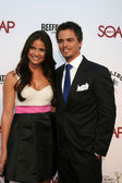 Shelley Hennig & Darin Brooks — Stock Photo