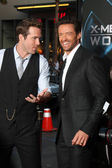 Ryan Reynolds, Hugh Jackman — Stock Photo