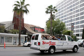House of Blues & Starline Tour Bus — Stock Photo