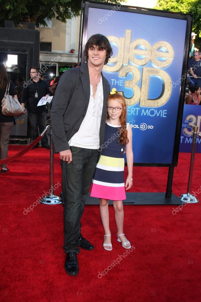 RJ Mitte, sister Lacianne Carriere – Stock Editorial Photo ...