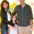 Jennifer Grey, Clark Gregg & daughter - Stock Photo