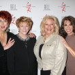 Marcia Wallace, Jeanne Cooper, Beth Maitland,  Kate Linder - Stock Photo
