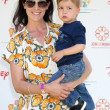 Stock Photo: Annabeth Gish & Son