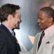 Robert Downey Jr & Jamie Foxx — Stock Photo #13084424