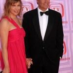 Ted McGinley & Gigi Rice — Stock Photo