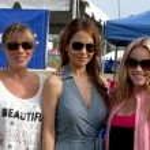 Nancy Grahn, Lisa LoCicero, Julie Marie Berman — Stock Photo #13086428