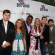 James Durbin, Haley Reinhart, Jacob Lusk, Lauren Alaina, Scotty McCreery, Casey Abrams — Stock Photo
