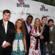 James Durbin, Haley Reinhart, Jacob Lusk, Lauren Alaina, Scotty McCreery, Casey Abrams — Stock Photo #13086850