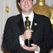 Michael Giacchino celebrates his Oscar for Achievement in Music — Stock Photo
