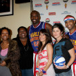 Brianna Brown, Sonja Eddy & Friend, Flight Time & Big Easy, Kimberly McCullough & Stef Z — Stock Photo #13088374