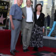 Jon Cryer & parents David Cryer and Gretchen Cryer — Stock Photo
