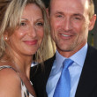 Colm Feore, wife Donna — Stock Photo