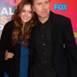 Hayey McFarland &amp; Tim Roth - Stock Photo