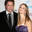 John Travolta, Kelly Preston - Stock Photo