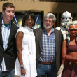 George Lucas, Family, Girlfriend - Foto de Stock