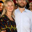 Jennifer Meyer &amp; Tobey Maguire - Stock Photo