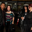 George Lopez, Slash and Wives - Stockfoto