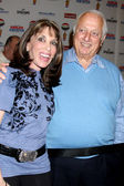 Kate Linder, Tommy Lasorda — Stock Photo