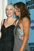 Annie Lennox and Sarah McLachlan — Stock Photo
